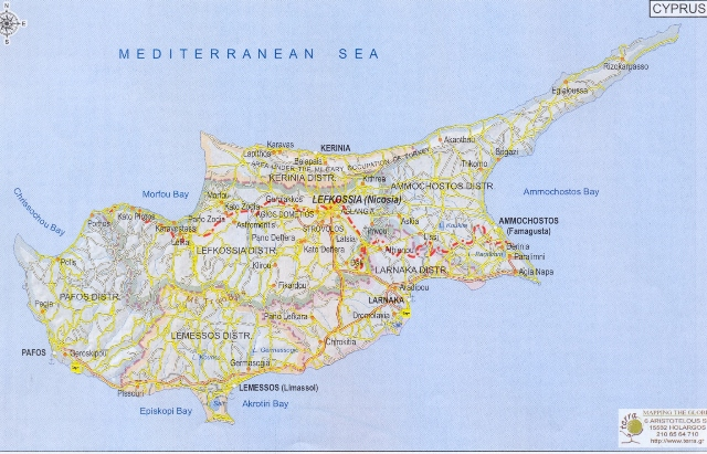 Authentic Cultural Development Sonderborg Ποιειν - Map of northern cyprus in english